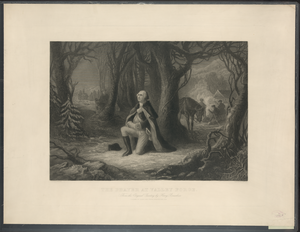 The Prayer At Valley Forge From The Original Painting By Henry Brueckner / Painted By H. Brueckner ; Engd. By John  C. Mcrae. Image