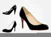 Clipart Of High Heels Shoes Image