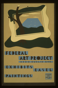Federal Art Project, 4300 Euclid Ave , Exhibits Easel Paintings