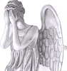 Weeping Angel Drawing Image