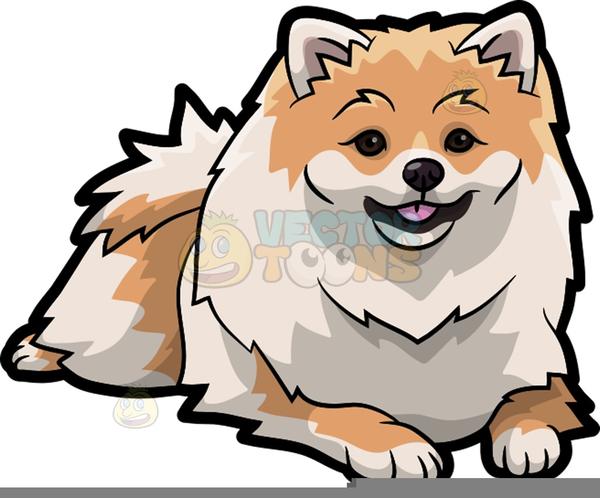 Free Clipart Pomeranian Free Images At Clkercom Vector Clip Art