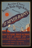 South Side High School Senior Class Presents  It Never Rains  A Comedy In 3 Acts Image
