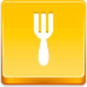 Free Yellow Button Fork Image