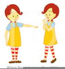 Free Twin Baby Girls Clipart Image