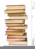 Clipart Stack Of Books Image