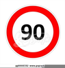 Clipart Speed Limit Sign Image