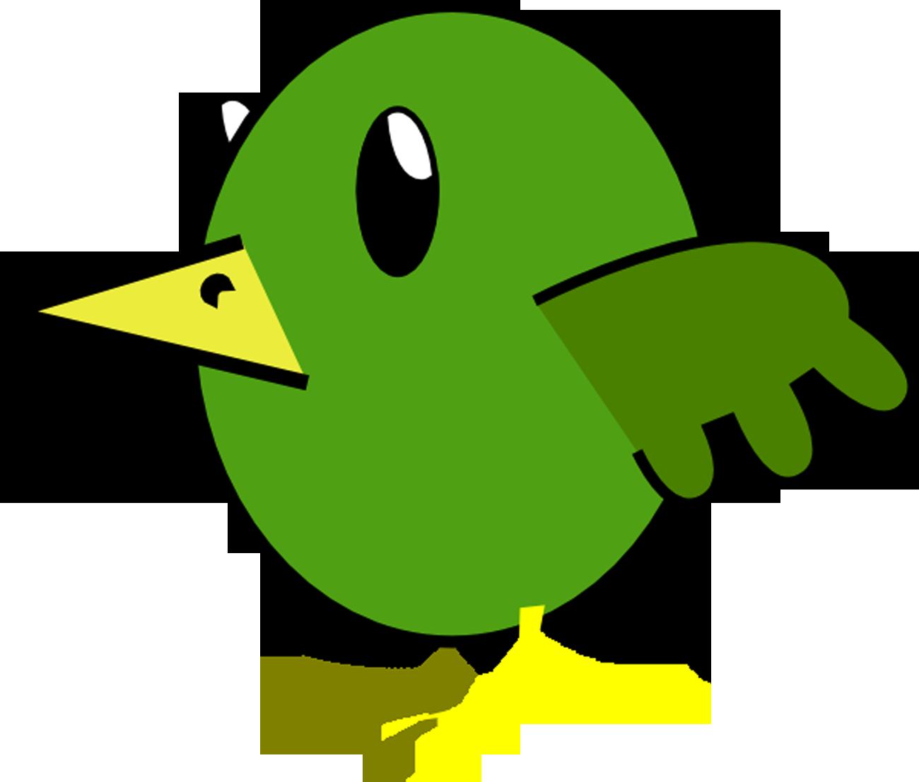 Bird Cartoon Hi | Free Images at Clker.com - vector clip ...