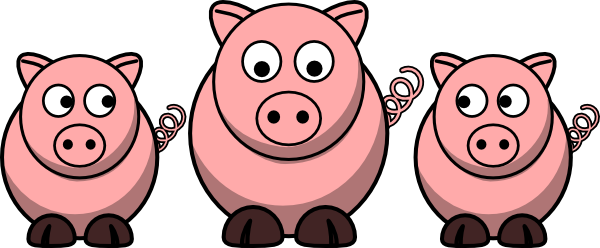 3 pigs clip art at clker com vector clip art online three little pigs clipart pictures 3 little pigs clipart black and white