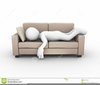 Clipart Person Couch Image