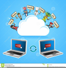 Cloud Computing Clipart Image
