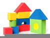 Childrens Building Blocks Clipart Image