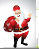 Father Christmas Hat Clipart Image