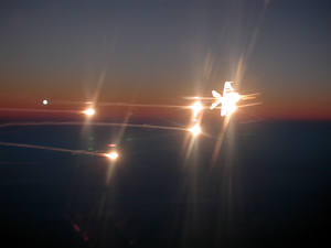 F/a-18 Fires Flares. Image