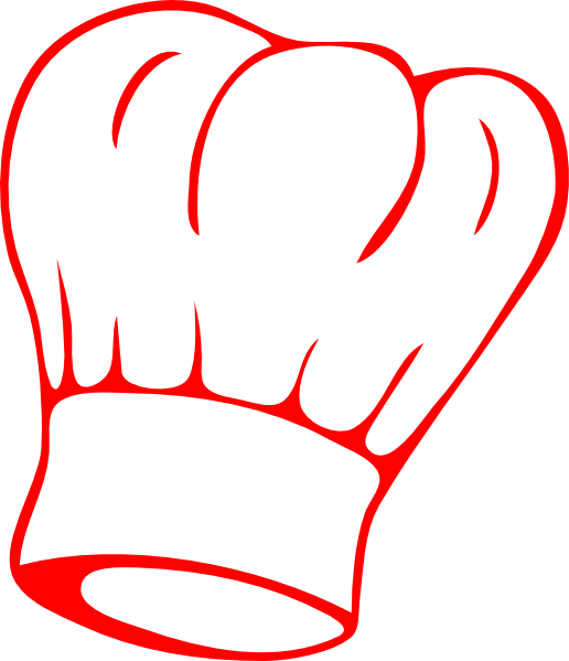 Chef Hat Red Clip Art At Clker Com Vector Clip Art