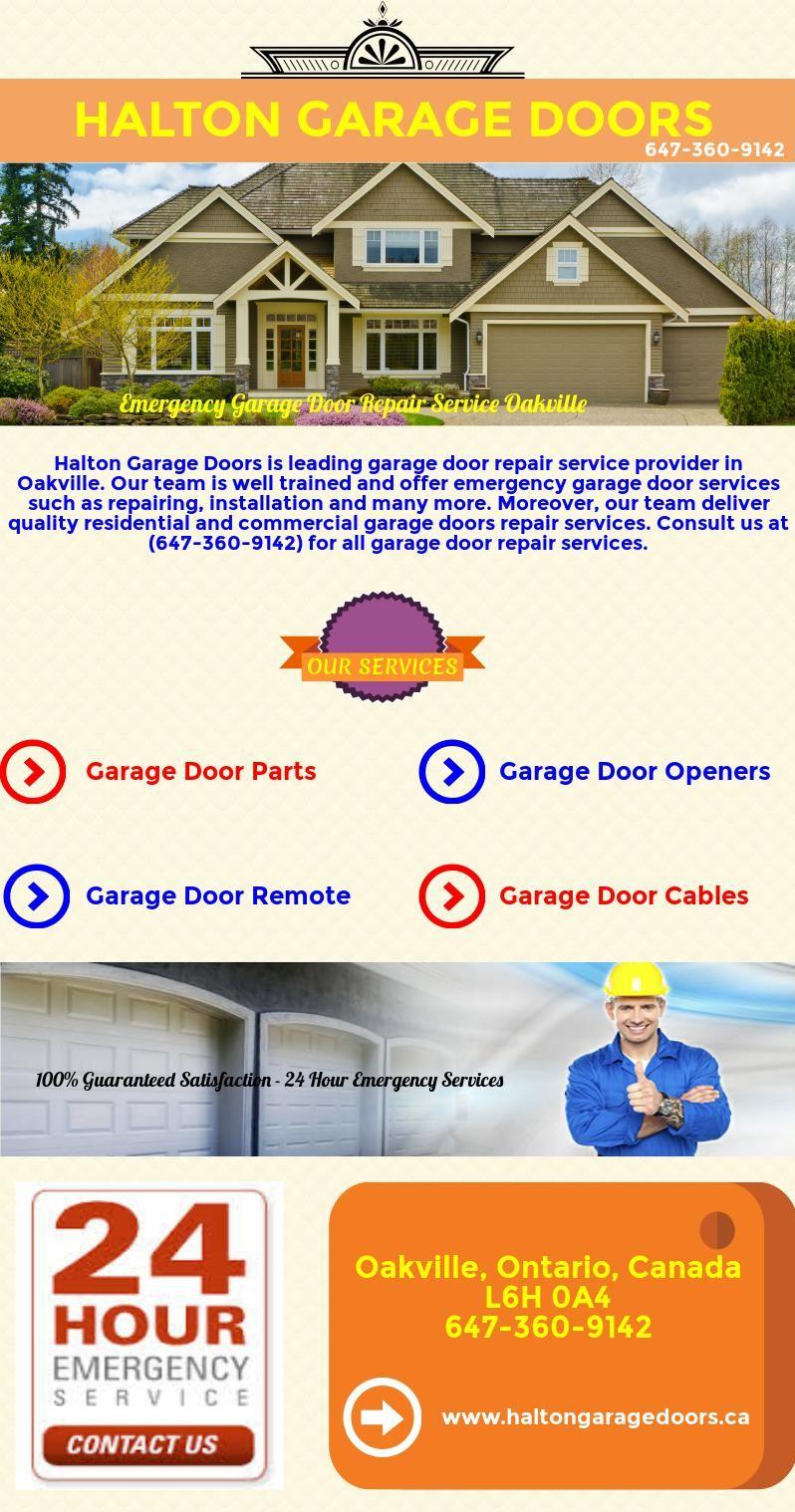 Emergency Garage Door Repair Service Oakville Free
