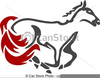 Horse Racing Clipart Graphics Image