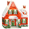 Animated Gingerbread House Clipart Image