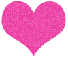 Small Black Heart Clipart Image