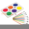Clipart Paint Brushes Image