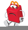 Mcdonalds Happy Meal Clipart Image