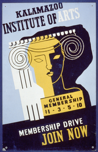 Kalamazoo Institute Of Arts - Membership Drive - Join Now Image