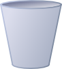 Empty Trash Can Clip Art
