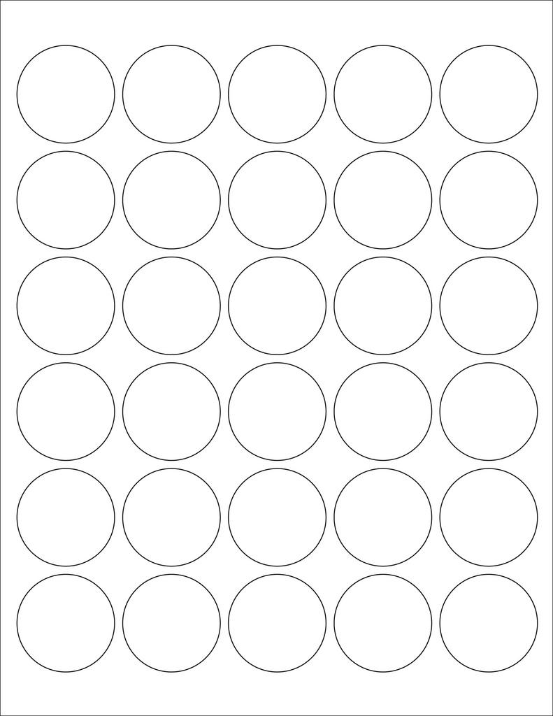 Printable Full Scale Circle Divider Templates  Blocklayercom