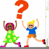 Asking Question Clipart Image