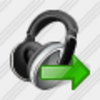 Icon Ear Phone Export Image