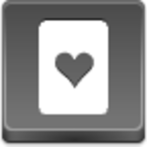 Free Grey Button Icons Hearts Card Image