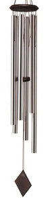 Pid Woodstock Chimes Of Neptune Silver Wind Chime Image