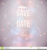 Holiday Save The Date Clipart Image