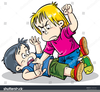 Free Clipart Children Fighting Image
