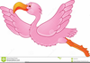 Pink Flamingo Clipart Image