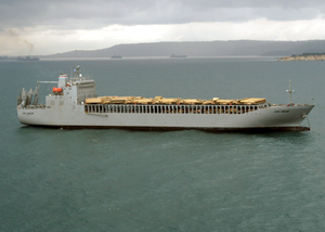 The Military Sealift Command (msc) Roll-on/roll-off Ready Reserve Force (rrf) Image
