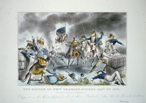 The Battle Of New Orleans, Fought Jany 8th 1814 Image