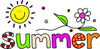 Schools Out For Summer Free Clipart Image