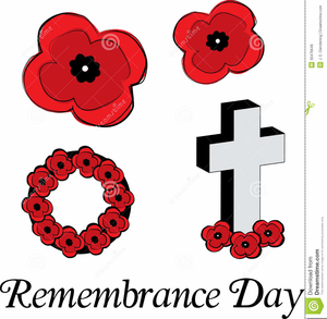 Remembrance Poppies Clipart Image