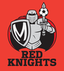 Final Red Knights Logo On Red Image