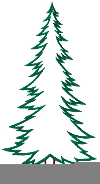 evergreen tree clipart free free images at clkercom