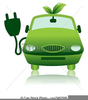 Electric Car Clipart Image
