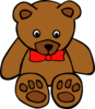 Gerald G Simple Teddy Bear Hi Image