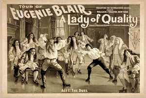 Tour Of Eugenie Blair, A Lady Of Quality By Francis Hodgson Burnett And Stephen Townesend. Image