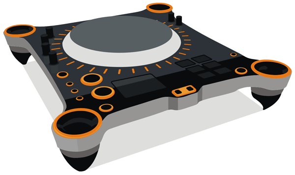 dj turntable free vector illustration l free images at