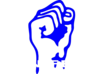 Solidarity Fist (manifest) Clip Art