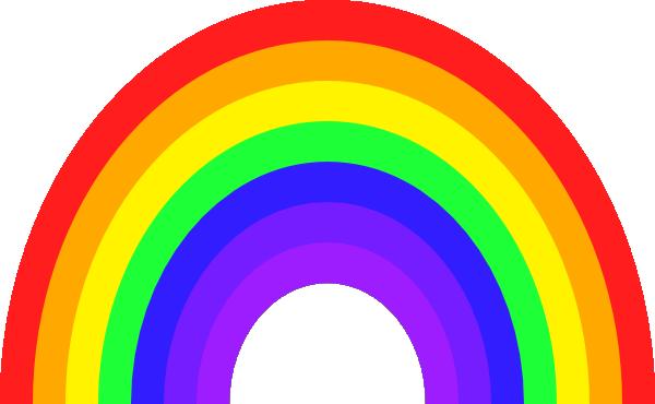 bigger rainbow clip art at clker com vector clip art online rh clker com clipart rainbow png clipart of rainbow fish