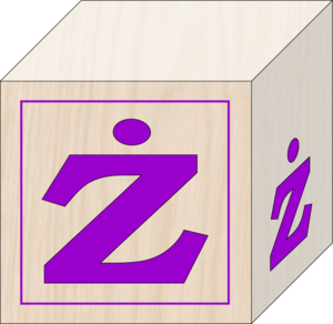 Blocks Polish Alphabet Z Image