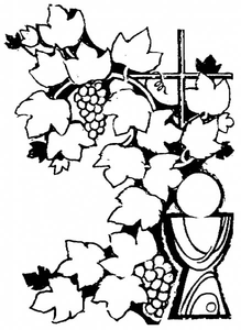 Grapes Cross Image