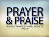 Prayer And Praise Clipart Image