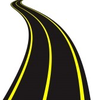 Vector Illustration Of Winding Road Image
